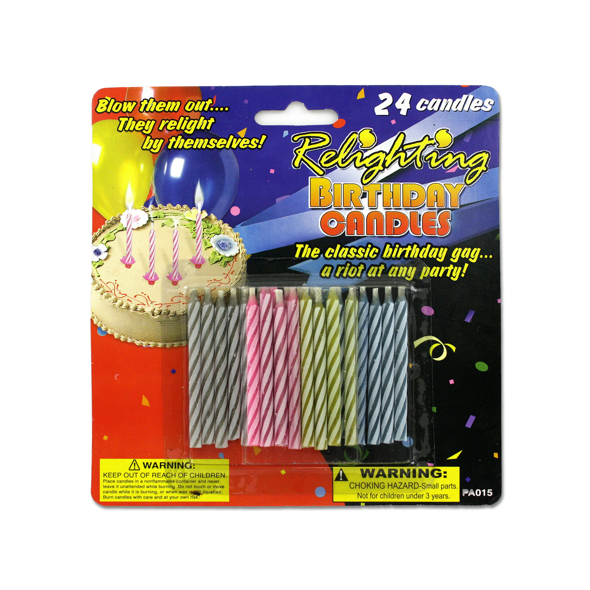 Wholesale Relighting Birthday Candles