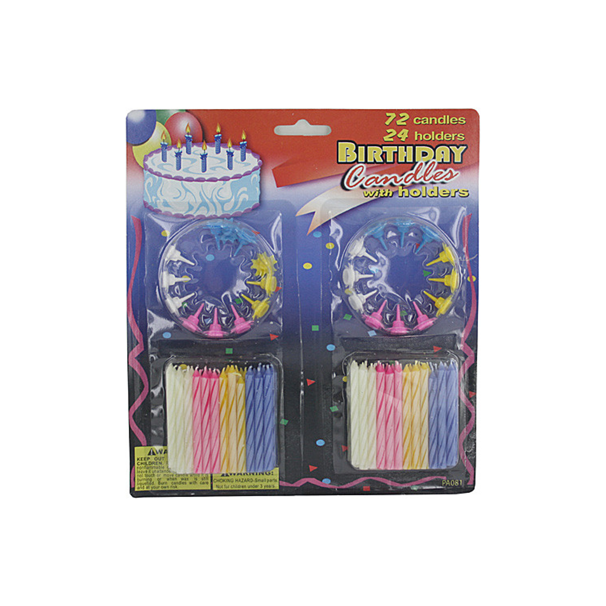 Wholesale Birthday Candles With Holders Set