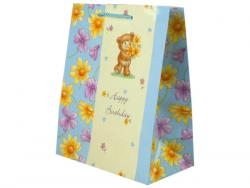 Wholesale Teddy Bear Birthday Medium Gift Bag