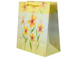 Wholesale Yellow Flowers Medium Gift Bag