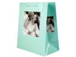 Wholesale Turquoise Romantic Medium Gift Bag