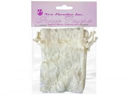 Wholesale 4 Pack 4x6 Ivory Lace Favor Pouches