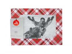 Wholesale 20 Count Red Plaid Photocards