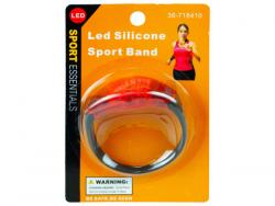 Wholesale Silicone Sports Band With LED Light