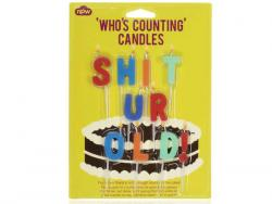 Wholesale Sh*t Ur Old Birthday Candles