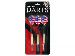 Wholesale Hard Tip Darts With American Flag Design