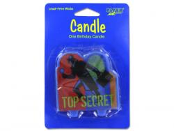 Wholesale Top Secret Birthday Candle