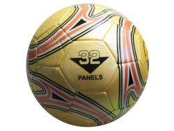 Wholesale Size 5 Gold Soccer Ball With Swirl Design