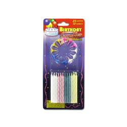 Wholesale Birthday Candles With Decorative Holders Set