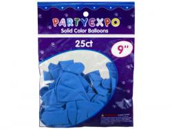Wholesale 25 Count 9 Inch Balloons In Light Blue
