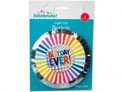 Wholesale Best Day Ever Light Up Button